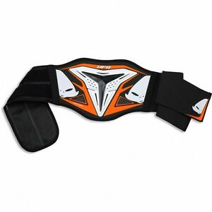 UFO-Adult-Demon-Body-Kidney-Belt-Protector-Motocross-MX-Enduro-Orange-CI02356F