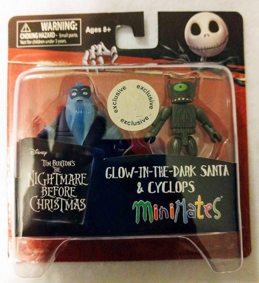 MINIMATES NIGHTMARE BEFORE CHRISTMAS SANTA & CYCLOPS, VAMPIRES ToysRUs