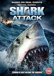 Shark Attack [DVD] - DVD  5FVG The Cheap Fast Free Post