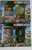 Star Wars Lego Lll Collector Pack Limited Edition Nintendo Ds Game And Wii