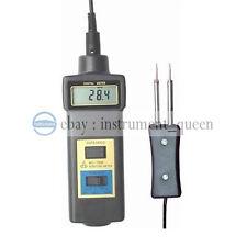Landtek Mc7806 Wood Moisture Meter Detector Tester Thermometer Paper 50