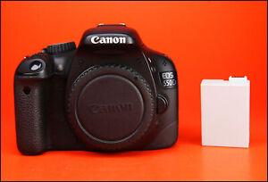 Canon-EOS-550D-18-0-MP-DSLR-Camera-Corps-Seulement-Generique-BATTERIE-1080p-HD