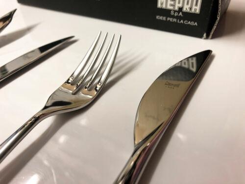 18 pièces en acier inoxydable Italie Couteau Fourchette Cuillère Mepra Energia Set de couverts pour 2
