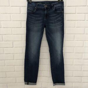 Kut-From-The-Kloth-Women-039-s-Jeans-Size-0-Catherine-Boyfriend-Cropped