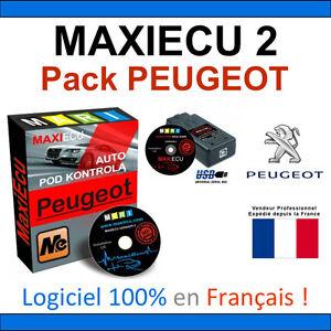 maxiecu 2 mpm com valise diagnostic peugeot diagbox lexia pp2000 autocom ebay. Black Bedroom Furniture Sets. Home Design Ideas