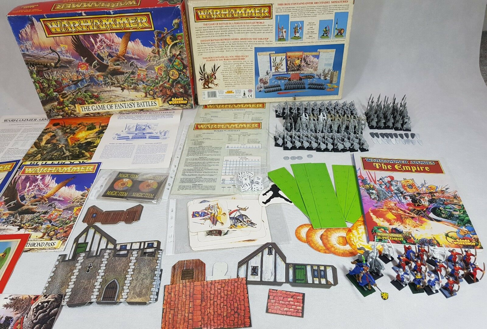 The Game of Fantasy Battles 4th edition, 3 armies   Empire with codex [ENG,1992]
