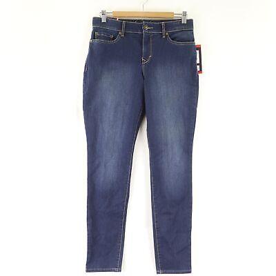 Littleton Black *NWT* Gloria Vanderbilt Women/'s Comfort Curvy Skinny Jeans