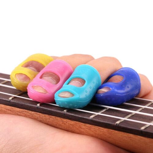 Farbe Gitarre Daumen Picks Finger Picks Plektrum Band Wiederverwendbare X
