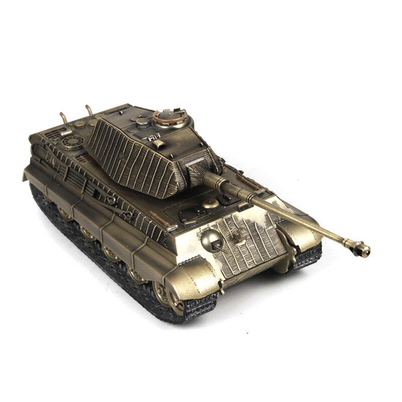 1 32 Metal Static Model Armoruge Vehicle Bronze Tiger Tank Panzer Military