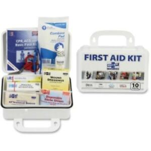 Pac-kit Safety Eq. 10-person First Aid Kit - 76 X Piece[s] For 10 X