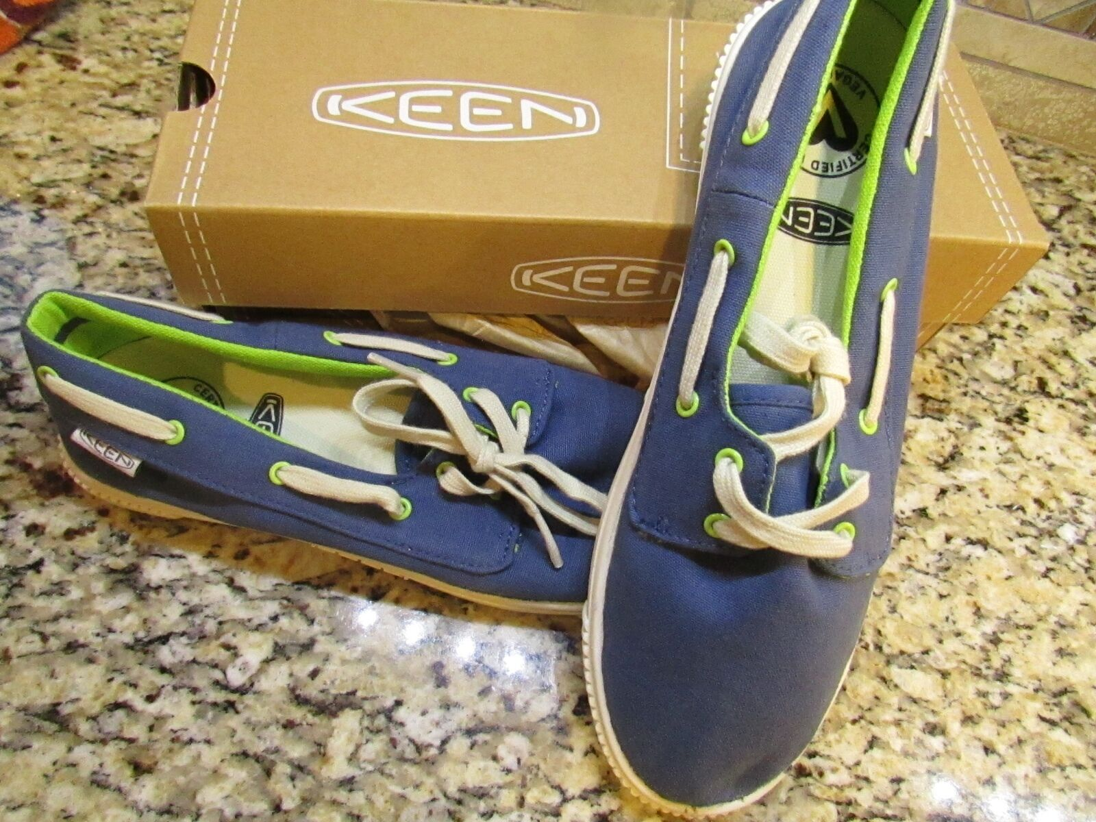 NEW KEEN MADERAS BOAT SHOES WOMENS 10.5 ENSIGN blueE STYLE  1010304  FREE SHIP