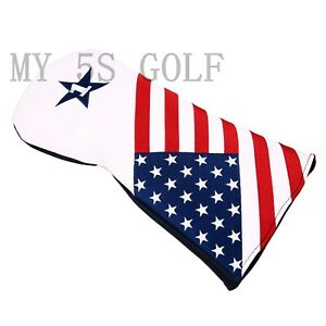 1pc-USA-Stars-amp-Stripes-Design-Golf-Driver-Wood-Head-Cover-Pour-TaylorMade-Callaway