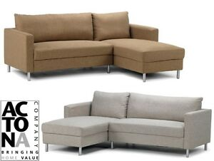 Image Is Loading Actona 034 Anniston 2 Seater Chaise Longue