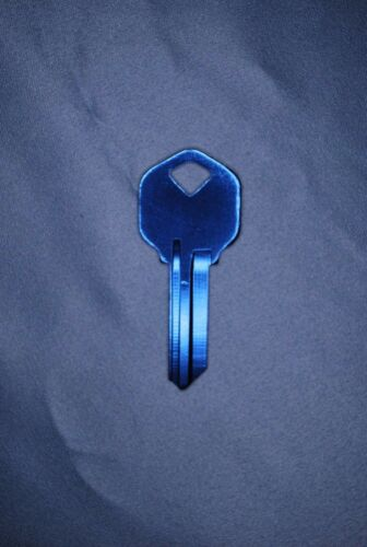 KW1 /'Titanium Brand/' keyblank for Kwikset and others 1063KW//1176 Blue or Black