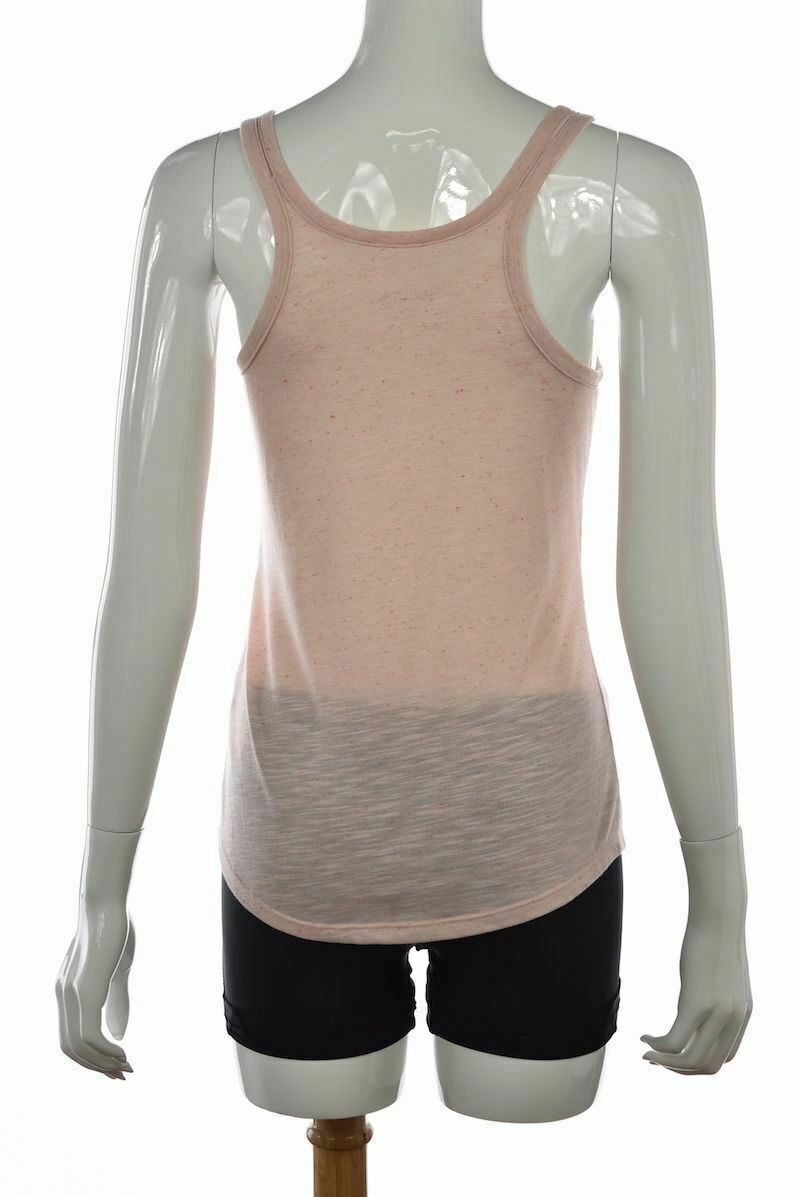 Reebok Womens Top Size S Pink Speckled Tank Sleeveless Casual Active Shirt