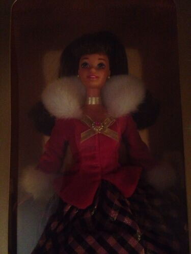 Barbie Mattel Winter Rhapsody Avon Special Edition In Box New