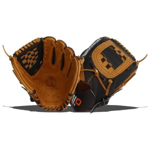 "L 12/"" Infielder Closed Web RHT NWT Nokona Baseball Glove Alpha Series S-1200C"