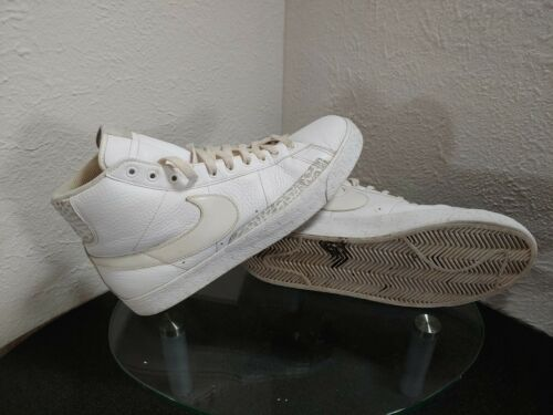 Nike Blazer High Size 10.5 White / Off White / Gre