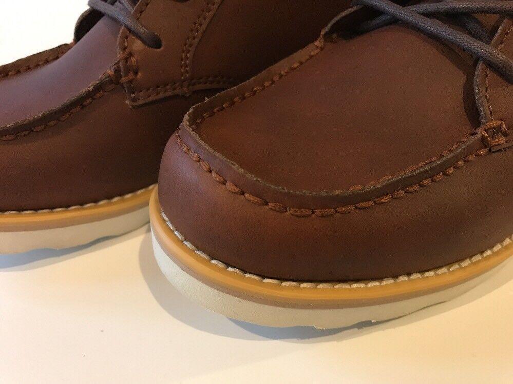 Boxfresh Men's Zelos Braun Leder Leder Leder Ankle Stiefel Größe UK 6 EU 40, New Boxed cfbaf2