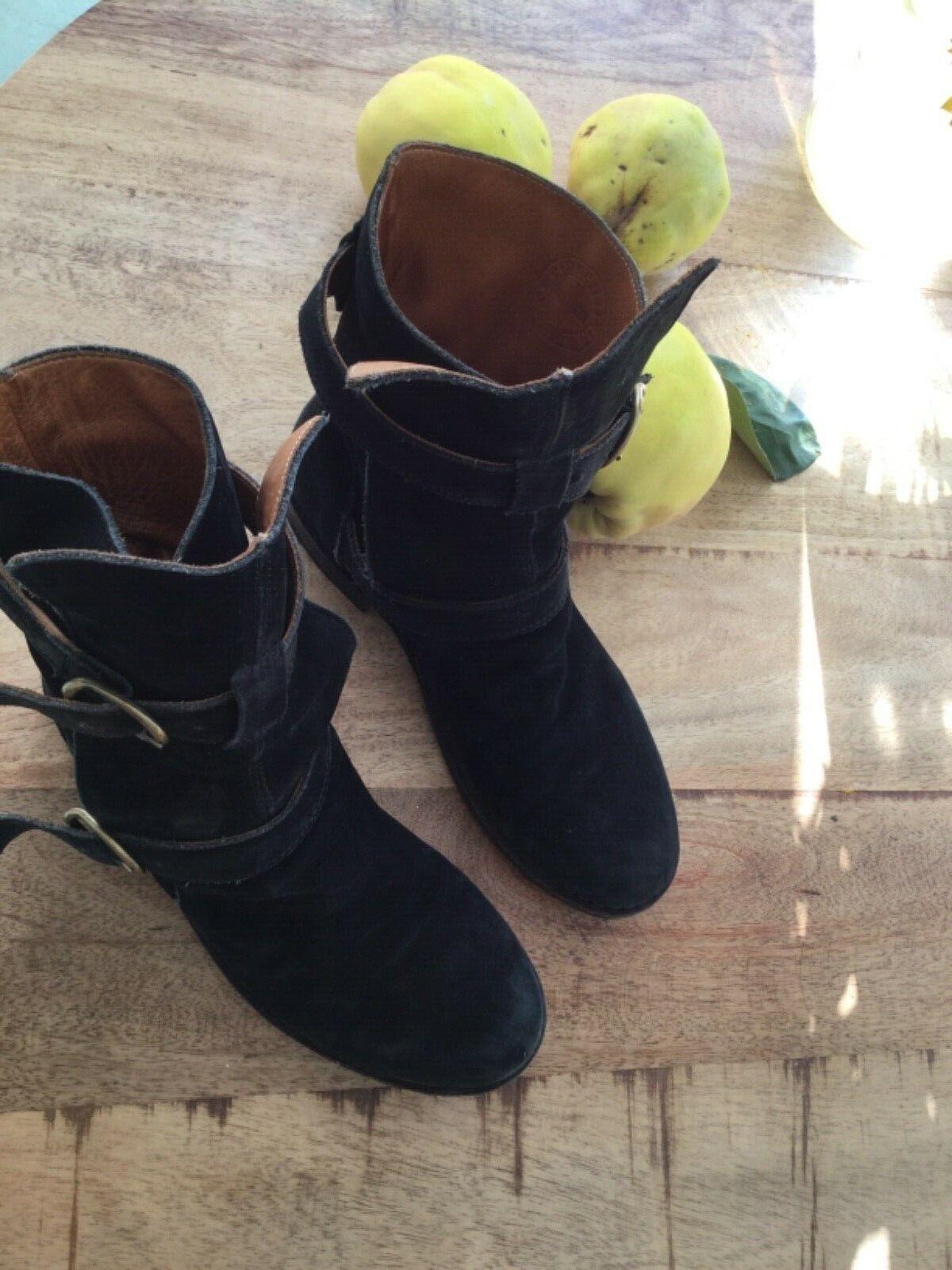 Neuwertig Fiorentini & Baker Stiefel 39,5  40 Schuhe Stiefel Stiefeletten schwarz