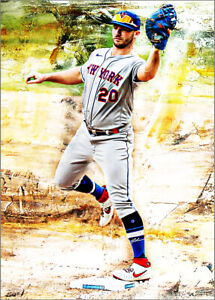 2021-Pete-Alonso-New-York-Mets-Baseball-3-25-Art-ACEO-Print-Card-By-Q