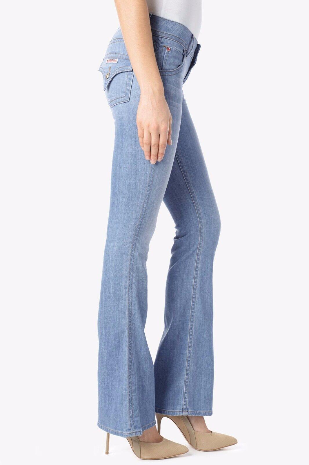 NWT HUDSON I'VE GOT SOUL Signature Bootcut Mid-Rise Jeans 27 BRAND NEW WM170DHA