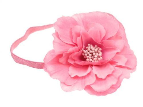 Kelly Candy Pink Flower Headband Bandeau  Hair Band Hair Accessories UK