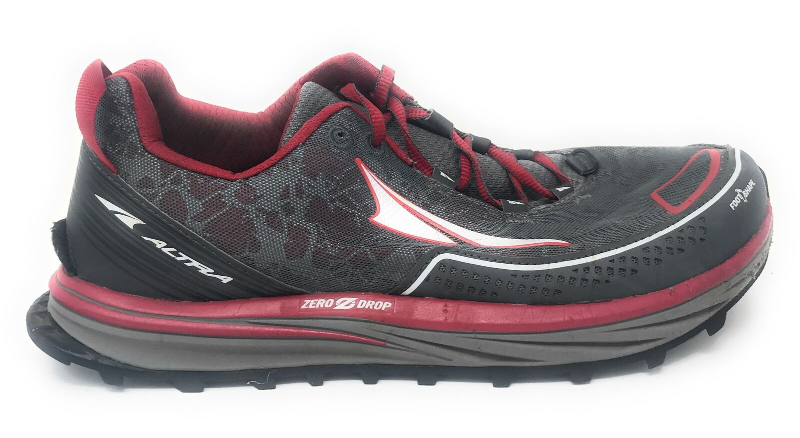 Altra Men's Timp Trail Running shoes, Red - 10 D(M) US Used