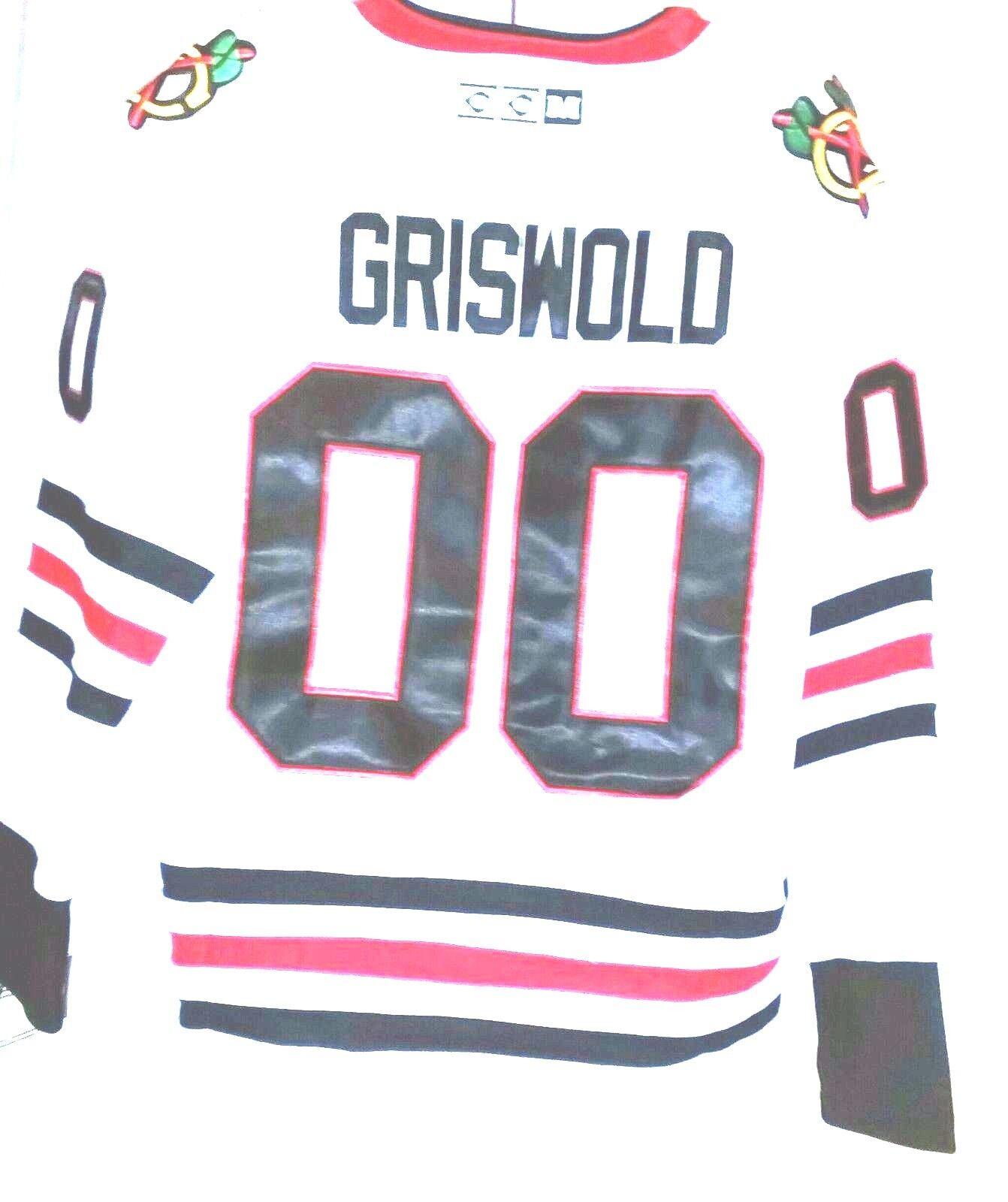 CCM NHL Chicago Blackhawks Christmas Vacation Clark Griswold 00 ... 4f1c14d4c
