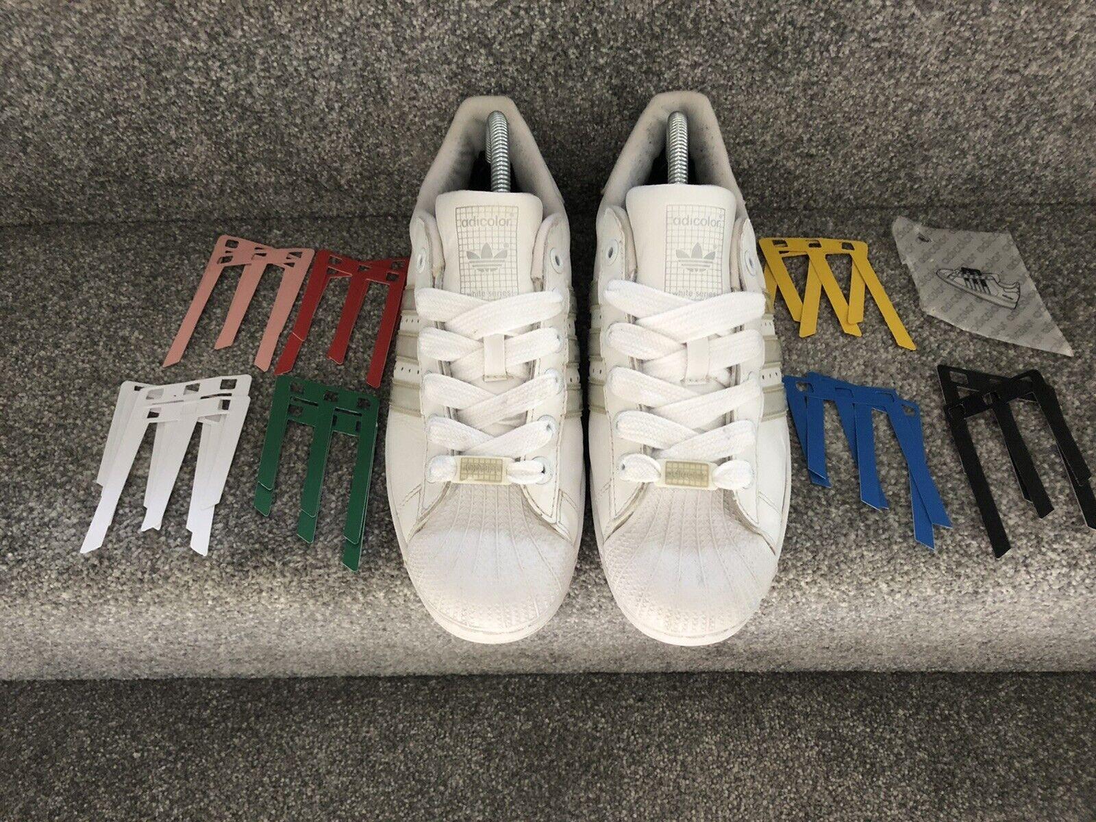 adidas Tartan Superstar Trainers With