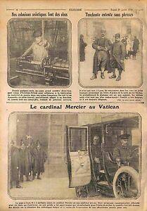Ouvrier-Indochine-Usine-Obus-Lyon-Poilus-Cardinal-Mercier-Vatican-Rome-WWI-1916