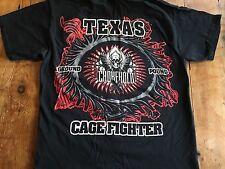 Tap out MMA Texas Choke Hold T-shirt Chokehold Large
