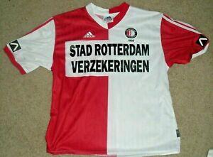 Adidas Feyenoord Rotterdam 1999 2000 Home Football Jersey Size Large Ebay