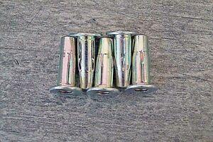 Nietmuttern Blindnietmuttern Käfig Spreiz M6 Stahl 0,0-5,0mm Q-Fold Nut 20 St