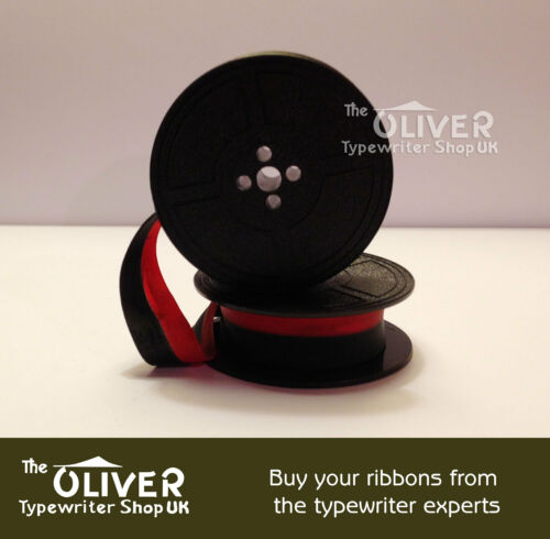 BLACK OR BLACK AND RED SIGNET PORTABLE TYPEWRITER RIBBON IMPERIAL SAFARI