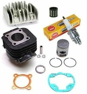 Kit-Moteur-Cylindre-Piston-Culasse-joints-cage-bougie-Booster-Bw-039-s-spirit-stunt