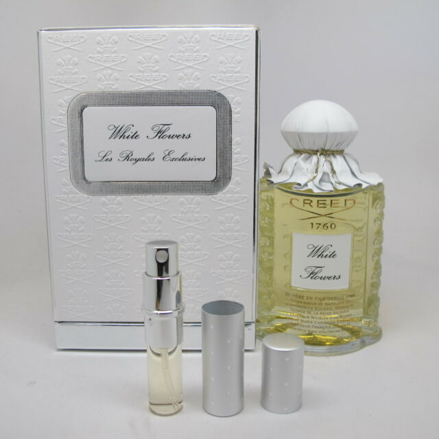 Les royales exclusives white flowers by creed for women 84 oz white flowers by creed 5 ml 017 oz eau de parfum refillable travel spray only mightylinksfo