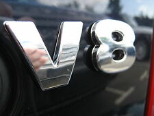 Chrome V8 Lettering for Range Rover P38 Classic engine 4.6 HSE autobiography