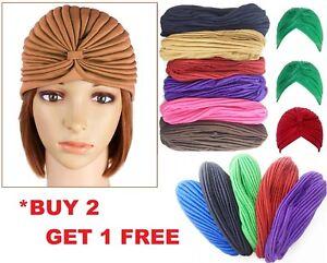 Bandeau Tête Complète Housse Turban Head Wrap Perte de Cheveux Chimio Yoga chapeau bandana foulard-afficher le titre d`origine svcI7ZPl-07153532-833699104