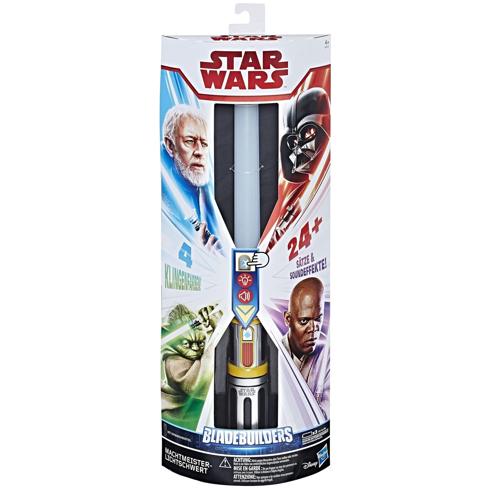 Hasbro Star Star Star Wars E2512100 Lightsaber Star Wars Master of the Force Fancy Dres... 81e51a