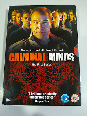 Mentes Criminales Primera Temporada 1 Completa 6 X Dvd Español Ingles Frances Ebay