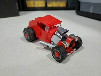 Lego Custom Red Coupe 75875 Speed Champions