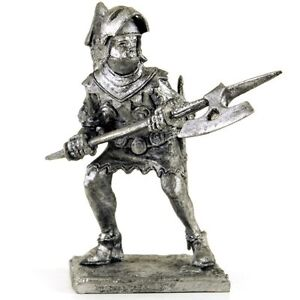 Hospitaller 15cent Crusaders Tin toy soldiers 54mm miniature metal sculpture