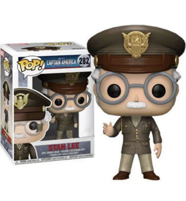 Stan Lee - Cameo Captain America  The First Avenger Exclusive Pop  PREORDER