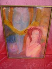emebellecedor,antiguo Pintura (Acuarela)__eritok__Akt__firmado__Pop Art __