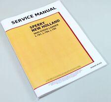 Ford New Holland L781 L784 L785 Skid Steer Loader Service Repair Shop Manual