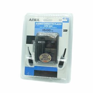 VINTAGE AIWA HS-G15 STEREO CASSETTE PLAYER RARE SEALED