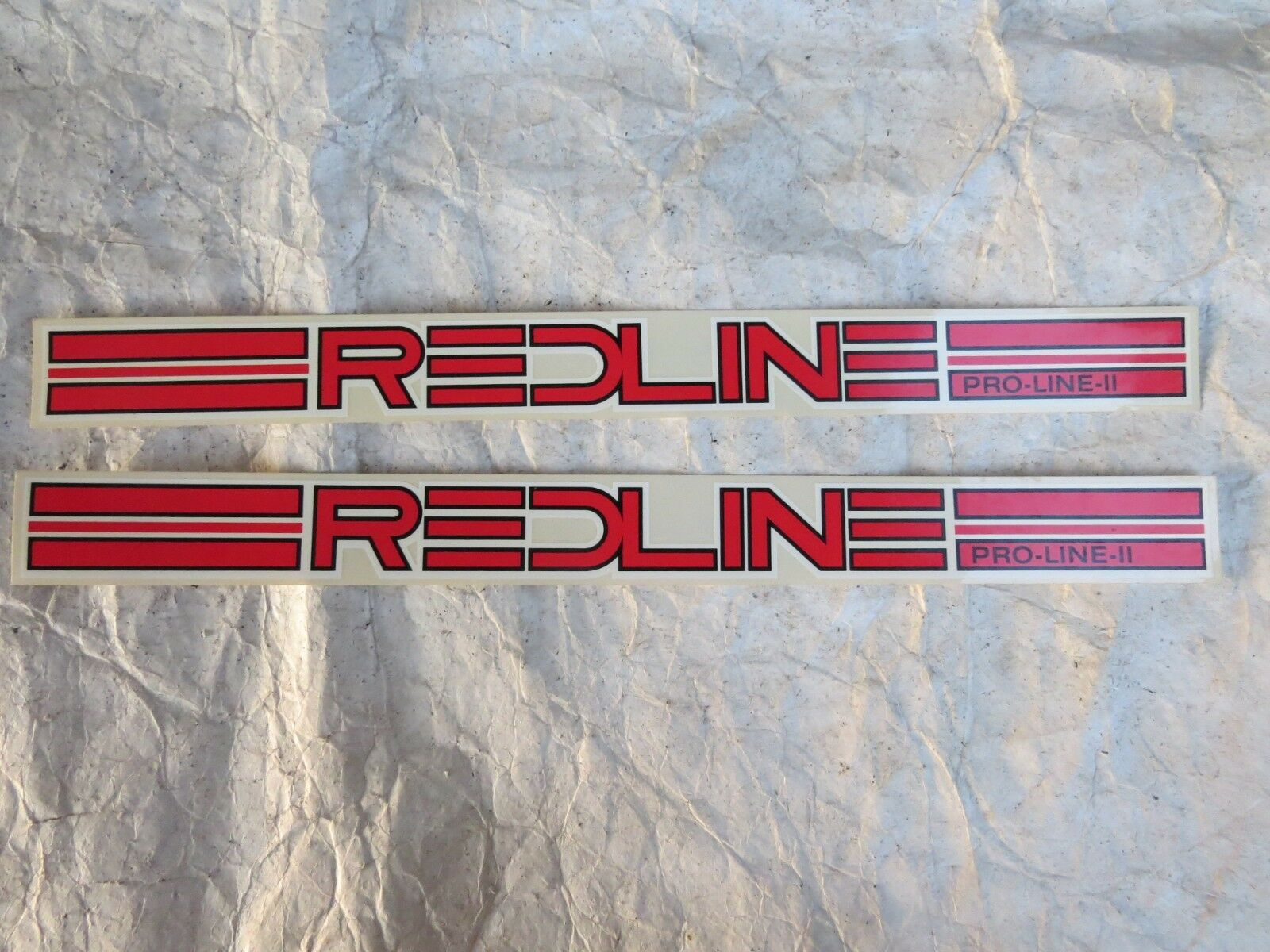 REDLINE DECALS   PRO-LINE 11 PL 20 bmx cruiser freestyle VINTAGE NOS  authentic quality
