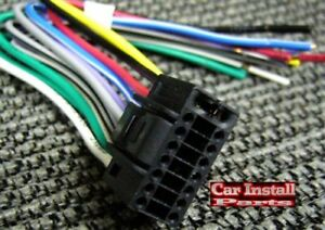 Details about 16 PIN Aiwa AfterMarket Car Stereo Radio Wire Harness on