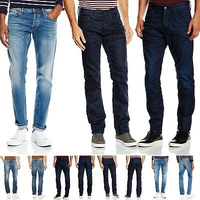 Original kaufen Qualitätsprodukte erstklassige Qualität Mens New Jack & Jones Clark Denim Jeans Regular Fit Straight Leg Pants 28 -  38 | eBay